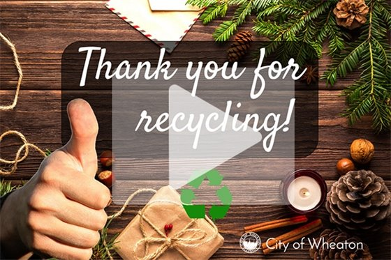 Holiday Recycling Video
