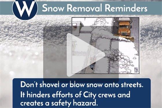 Snow reminders video