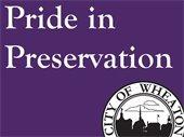 Pride in Preservation Sign
