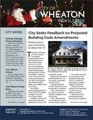 December 2019 City Newsletter