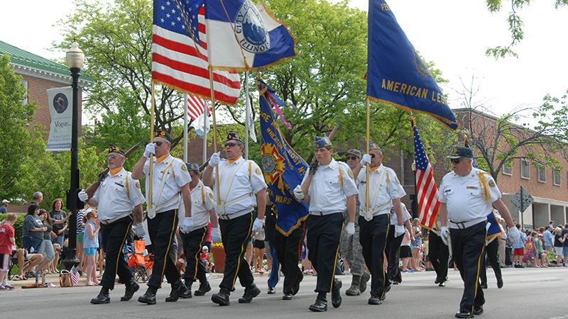 memorial day parade Opens in new window